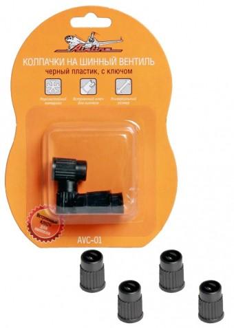 Колпачки на ниппель AirLine AVC-01 (пластик, 4 шт)