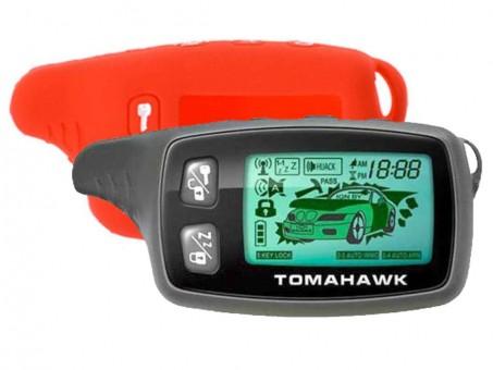 Чехол силиконовый Tomahawk TW-9010/9020/9030 (красный)