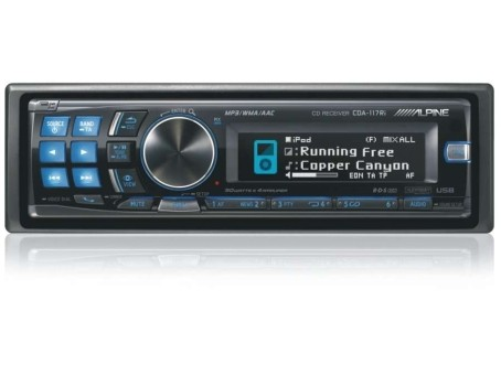 CD/MP3-ресивер Alpine CDA-117Ri+ KAE-105A