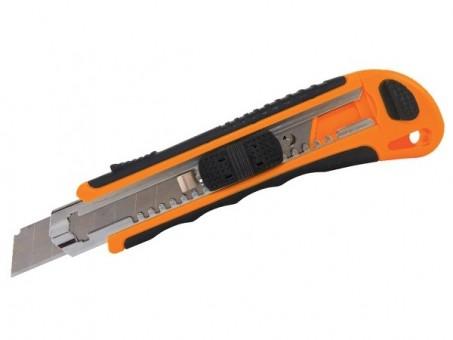 Нож TDM ТНУ-02 (18 мм, автомат. фиксатор)