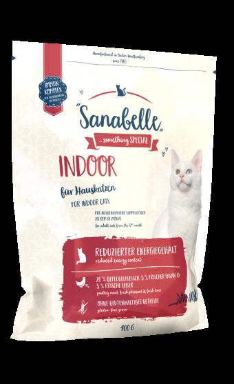 Сухой корм для кошек Sanabelle Indoor NEW, 0,4 кг