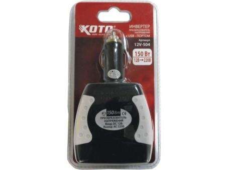 Преобразователь напряжения Koto 12V-504 (инвертор)