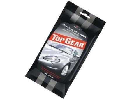 Салфетки влажные TopGear для стекол (30 шт)