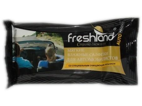 Freshland Салфетки влажные Auto Proffi (12 шт.)
