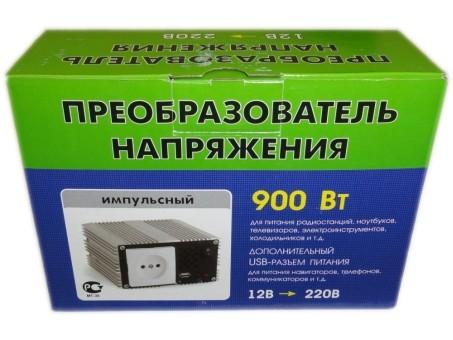 Преобразователь напряжения Орион ПН-70 (12-220В,900Вт,USB)