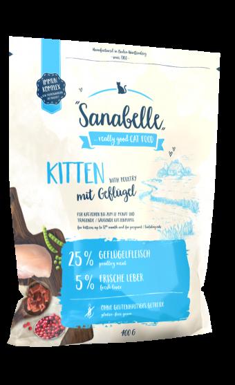 Сухой корм для для котят Sanabelle Kitten NEW,  0,4 кг