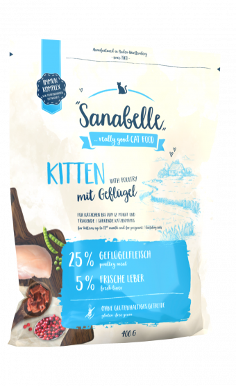 Сухой корм для котят Sanabelle Kitten (0,4 кг)