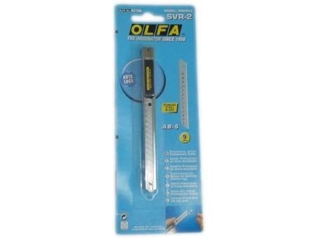 Нож выдвижной Olfa OL-SVR-2 (автофиксатор)