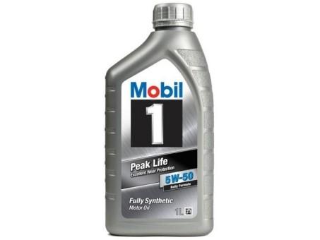 Масло моторное Mobil 1 Peak Life 5W50 (1л)