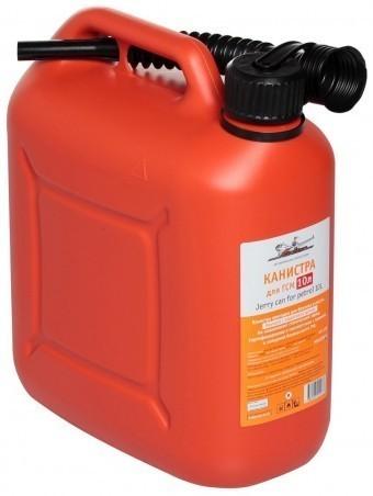 Канистра пластиковая AirLine 10 л (красная)