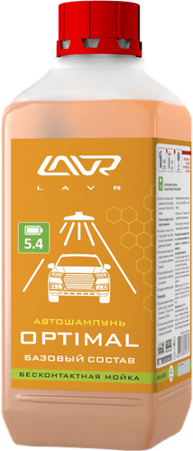 Lavr Ln2316 Автошампунь для бесконтактной мойки Optimal (1 л)