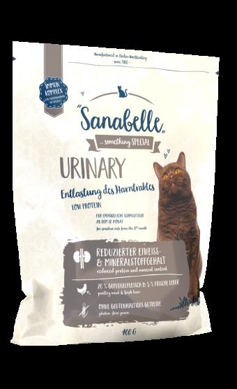 Сухой корм для кошек Sanabelle Urinary NEW, 0,4 кг