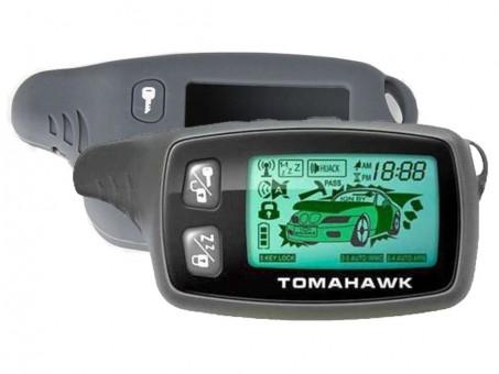 Чехол силиконовый Tomahawk TW-9010/9020/9030 (серый)