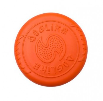 Игрушка DogLike Тарелка (оранжевая, диаметр 18 см)