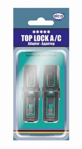Адаптеры щеток Alca Top Lock A/C (Mazda, Lexus, 2 шт)