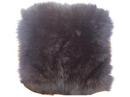 Накидка меховая натур. PSV Jolly Extra (длин/в, черная, 45x45 см, 1 шт.)