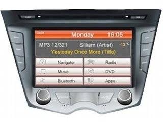 Головное устройство Hyundai Veloster - Intro CHR-2493