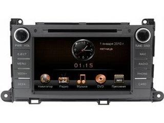 Головное устройство Toyota Sienna - Incar CHR-2219 SN