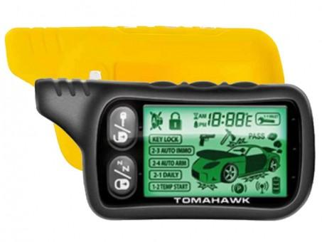Чехол силиконовый Tomahawk TZ-9020/9030 (желтый)