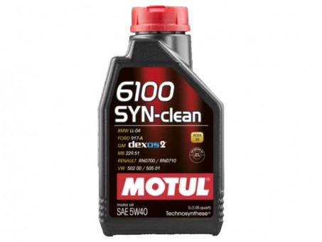 Масло моторное Motul 6100 SYN-nergy 5W40 (1 л)