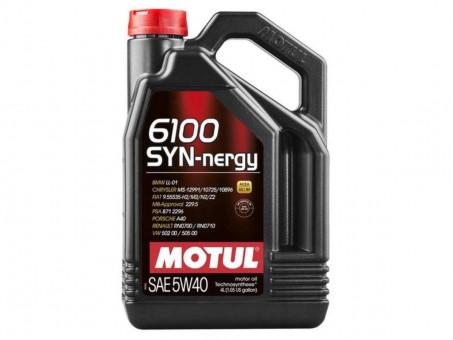 Масло моторное Motul 6100 SYN-nergy 5W40 (4 л)