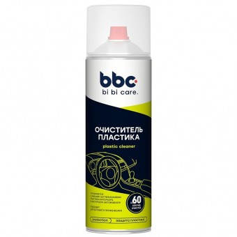 BiBiCare 4019 Очиститель пластика (аэрозоль, 650 мл)