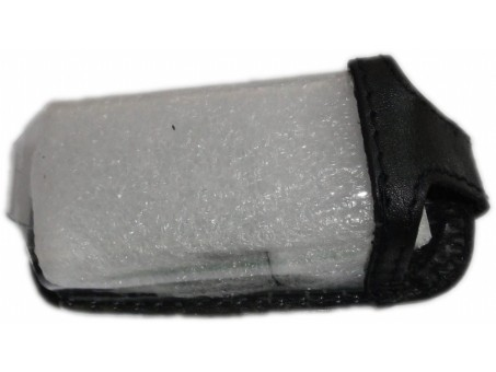 Чехол для смарт-ключа Suzuki (Grand Vitara/Swift/SX4, 2 кнопки, черная кожа)