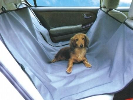 Накидка для собак PSV NP-5008 (на заднее сиденье, серая)