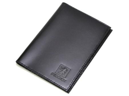 Бумажник водителя Askent BV.1. Peugeot (black)