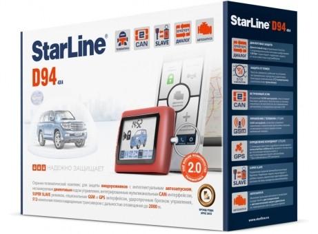 Автосигнализация StarLine D94 Dialog CAN GSM (а/з)