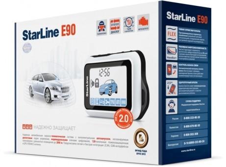 Автосигнализация StarLine E90 Dialog GSM (а/з)