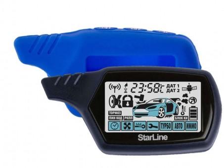 Чехол силиконовый Старлайн A91/B9 (синий)
