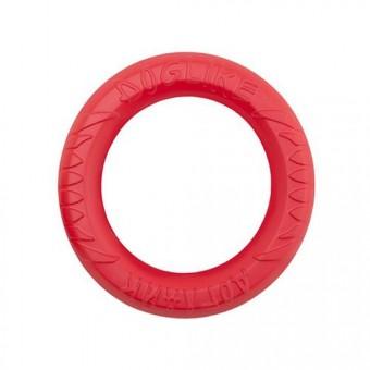 Игрушка DogLike Кольцо восьмигранное (коралловое, диаметр 20,0 см)