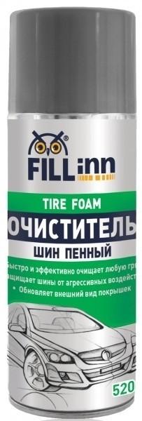 Fill Inn FL063 Очиститель шин пенный, 520 мл