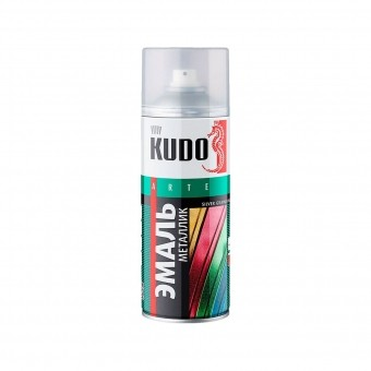 "Краска-спрей ""KUDO"" KU-1026 стандарт Серебро (520мл) аэрозоль"