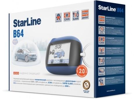 Автосигнализация StarLine B64 Dialog CAN (об/с)