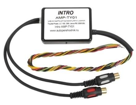 Блок подключения усилителя Intro AMP-TY01 Toyota Prado120