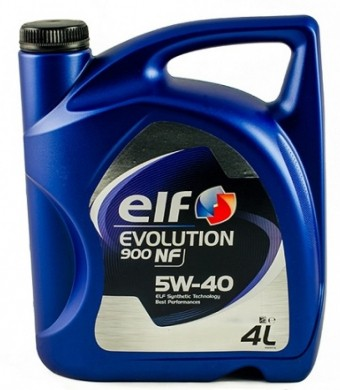 Масло моторное Elf Evolution 900 NF 5W40 (4 л)