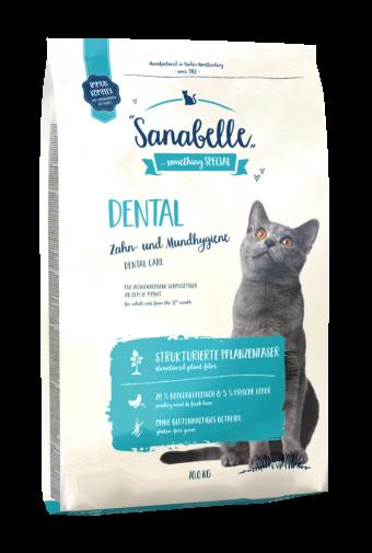 Сухой корм для кошек Sanabelle Dental NEW,  10 кг