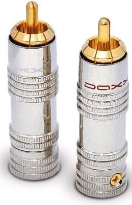 Daxx T09 RCA конектор (White)