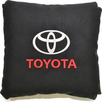 Подушка замшевая Toyota (А18 - черная)