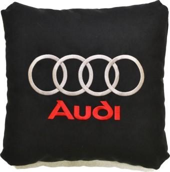 Подушка замшевая Audi (А18 - черная)