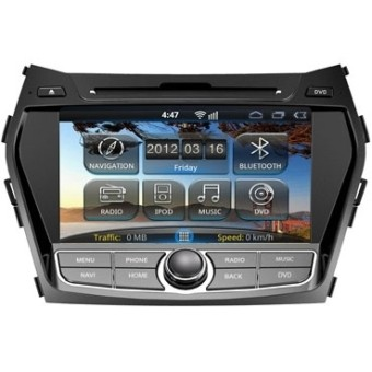 Головное устройство Hyundai Santa Fe III - Intro AHR-2482SF (Android)