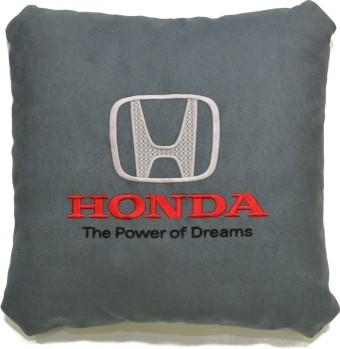 Подушка замшевая Honda (А101 - серая)