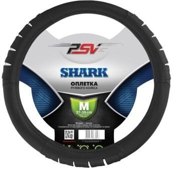 Оплетка руля PSV Shark (черная)