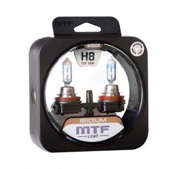 Лампы MTF Iridium H8 (12 V, 35 W, 2 шт)