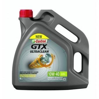 Масло моторное Castrol GTX Ultraclean 10W-40 A3/B4 (4 л)
