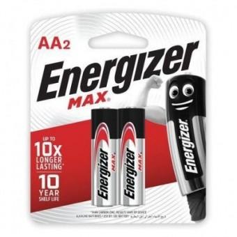 Батарейки AA (LR06) Energizer Max (блистер, 2 шт)