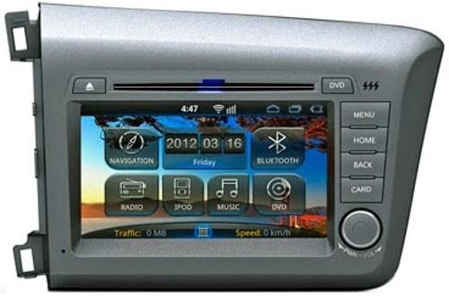 Головное устройство Honda Civic 4D - Intro AHR-3682 CV (Android)