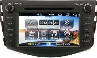 Головное устройство Toyota Rav4 - Incar AHR-2283 (Android)